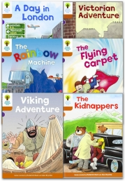 Oxford Reading Tree Read With Biff Chip Kipper Stories Collection 6 Books Set Level 8 Photo