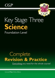 KS3 Science Complete Revision & Practice - Foundation Photo