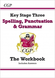 Spelling, Punctuation and Grammar for KS3 - Workbook (with Answers) Photo