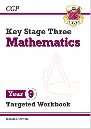 KS3 Maths Year 9 Targeted Workbook with answers(Key Stage 3) Photo