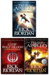 Trials of Apollo Collection 3 Books Set (The Hidden Oracle, The Dark Prophecy, Confidential) Photo