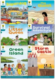 Oxford Reading Tree Read With Biff Chip Kipper Stories Collection 6 Books Set Level 9 Photo