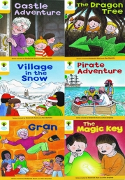 Oxford Reading Tree Level 5 Read With Biff Chip and Kipper 6 Books Set Photo
