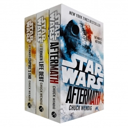 Star Wars Aftermath Trilogy 3 Books Collection Set By Chuck Wendig Life Debt Photo
