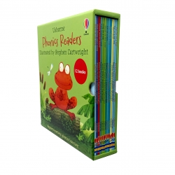 Usborne Phonics Young Readers 12 Picture Books Collection Gift Set Photo