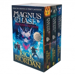 Magnus Chase and the Gods of Asgard 3 Books Collection Box Set by Rick Riordan - Book 1-3 by Rick Riordan