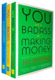 You are a Badass, You are a Badass Everyday, You are a Badass at Making Money 3 Books Collection Set by Jen Sincero Photo