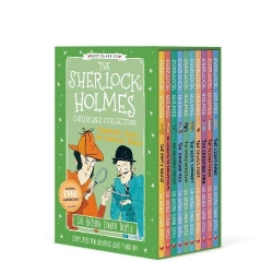The Sherlock Holmes Children's Collection: Creatures, Codes and Curious Cases 10 Books Box Set (Series 3) Photo
