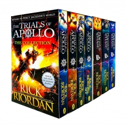 Trials of Apollo and Magnus Chase Series 7 Books Collection Box Set By Rick Riordan Photo