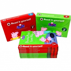 Peppa Pig Read It Yourself With Ladybird Level 1-2: 10 Books Collection Set by Ladybird