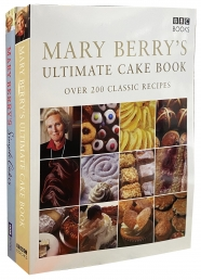 Mary Berry's Ultimate Simple Cake 2 Books Collection Set Over 200 Classic Delicious Step by Step Recipes Photo