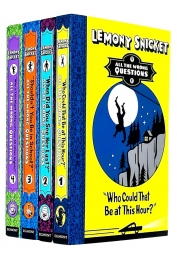 Lemony Snicket All The Wrong Questions 4 Books Collection Set Photo