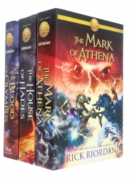 The Heroes of Olympus Collection 3 Books Set Collection by Rick Riordan - Hardback Photo