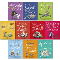 Happy Families Stories Series 10 Books Collection Set By Allan Ahlberg by Allan Ahlberg
