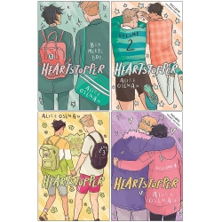Heartstopper Series Volume 1-4 Books Collection Set By Alice Oseman Photo