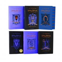 Harry Potter House Ravenclaw Edition Series 6 Books Collection Set By J.K. Rowling Photo