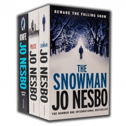 Jo Nesbo Harry Hole Thriller Series 3 Books Collection Set (The Snowman, Police, Knife) by Jo Nesbo