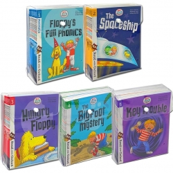 Biff, Chip and Kipper Stage 1-5 Read with Oxford: 88 Phonics Books Collection Set by Oxford Reading Tree