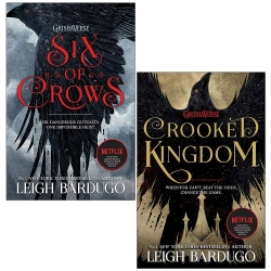 Six of Crows Leigh Bardugo Collection 2 Books Set (Six of Crows, Crooked Kingdom) Photo