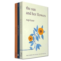 Rupi Kaur Collection 3 Books Set (Home Body, Milk and Honey, The The Sun and Her Flowers) Photo