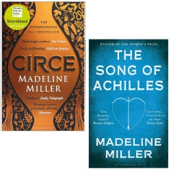 Circe and The Song of Achilles By Madeline Miller 2 Books Collection Set Photo