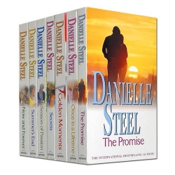 Danielle Steel Collection 7 Books Set (Once In A Lifetime, The Promise, Summers End, Season Of Passion, Now And Forever, Secrets, Golden Moments) Photo