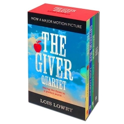 The Giver Quartet Series Collection 4 Books Box Set - The Giver, Gathering Blue, Messenger, Son Photo