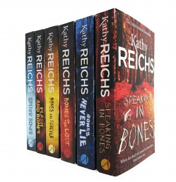 Kathy Reichs Temperance Brennan Collection 6 Books Set Series 3 - Speaking in Bones, Bones Never Lie, Bones of the Lost, Bones are Forever and More Photo