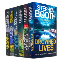Stephen Booth Cooper and Fry Series 6 Books Collection Set - The Murder Road, Secrets of Death, Dead in the Dark, Fall Down Dead and More Photo
