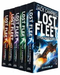 Jack Campbell Lost Fleet Beyond the Frontier Series 5 Books Collection Set (Invincible, Guardian, Leviathan, Dreadnaught, Steadfast) Photo