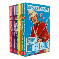 Horrible Histories Series 10 Books Collection Set by Terry Deary Photo