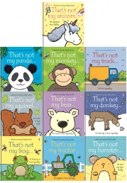 Baby Books Thats Not My Toddlers 10 Books Collection Set Pack Fiona Watt Touchy-feely Board Books Photo