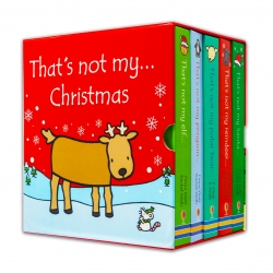 Thats Not My Christmas Collection 5 Books Box Set That's Not My Santa, That's Not My Reindeer, That's Not My Polar Bear, That's Not My Penguin & More Photo