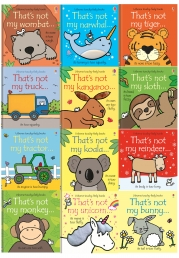 Thats Not My Toddlers 12 Books Collection Set Pack Fiona Watt (Touchy-Feely Board Books) Photo