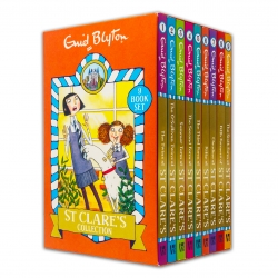 Enid Blyton Books St Clares Boxed Set Gift 9 Books Collection Classic Childrens books