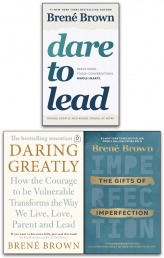 Brene Brown Collection 3 Books Set (Daring Greatly, Rising Strong, The Gifts Of Imperfection) by Brene Brown