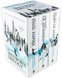 The Mistborn Trilogy Collection 3 Books Box Set Pack - The Hero Of Ages, The Well Of Ascension, The Final Empire Photo