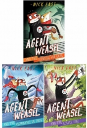 The Agent Weasel Series 3 Books Collection Set by Nick East (Fiendish Fox Gang, Abominable Dr Snow, Robber King) Photo
