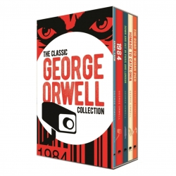 The Classic George Orwell Collection 5 Books Box Set Edition - Animal Farm, 1984, The Road to Wigan Pier, Homage to Catalonia and More Photo