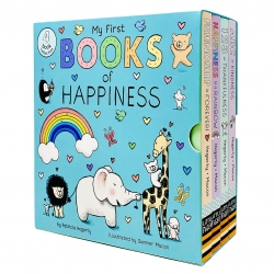 My First Books of Happiness 4 Books Collection Box Set by Patricia Hegarty (ABC of Kindness, 123 of Thankfulness, Happiness is a Rainbow & More) Photo