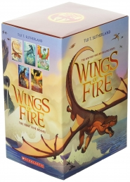 Wings of Fire Boxset, Books 1-5 (Wings of Fire) Photo
