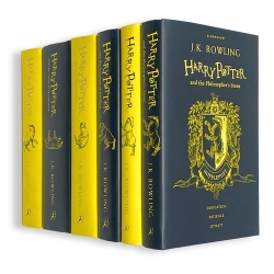 Harry Potter Hufflepuff House Edition 6 Books Set Collection By J.K Rowling Photo
