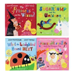 Princess Mirror-Belle and the Dragon Pox and other Stories 4 Books Set by Julia Donaldson by Julia Donaldson