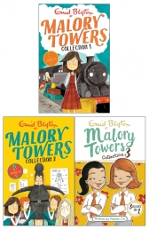 Enid Blyton Malory Towers 3 Books 9 Story Collection (3 Books in 1) Photo