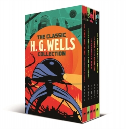 The Classic H. G. Wells Collection 5 Books Box Set (The War of the Worlds, The Time Machine & Other Stories, The Invisible Man and More!) Photo