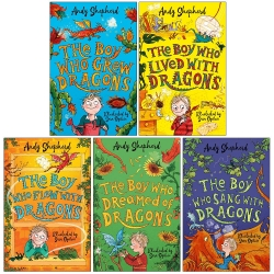 The Boy Who Grew 5 Books Collection Set by Andy Shepherd Photo