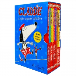 Claude A Rather Smashing Collection 9 Books Box Set by Alex T. Smith Photo