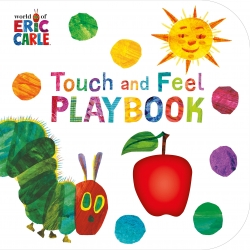 The Very Hungry Caterpillar Touch and Feel Playbook by Eric Carle Photo