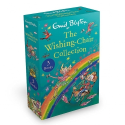 The Wishing Chair Series 3 Books Box Set Collection By Enid Blyton (Adventures of the Wishing Chair, Wishing Chair Again & More Wishing Chair Stories) Photo