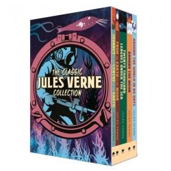 The Classic Jules Verne Collection 5 Books Box Set (Around the World in Eighty Day, Journey to the Centre of the Earth and More) Photo